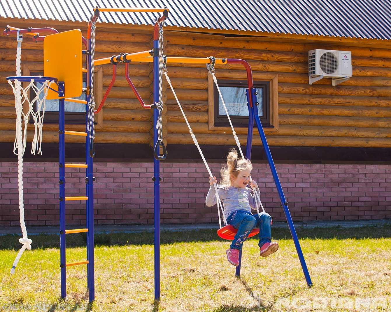 Детский спортивный комплекс для дачи: место для отдыха ребенка 31