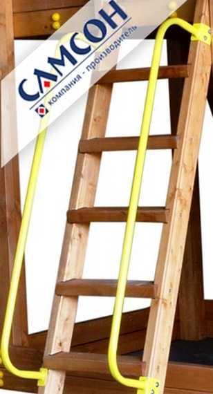 Как сделать лестницу детскую из