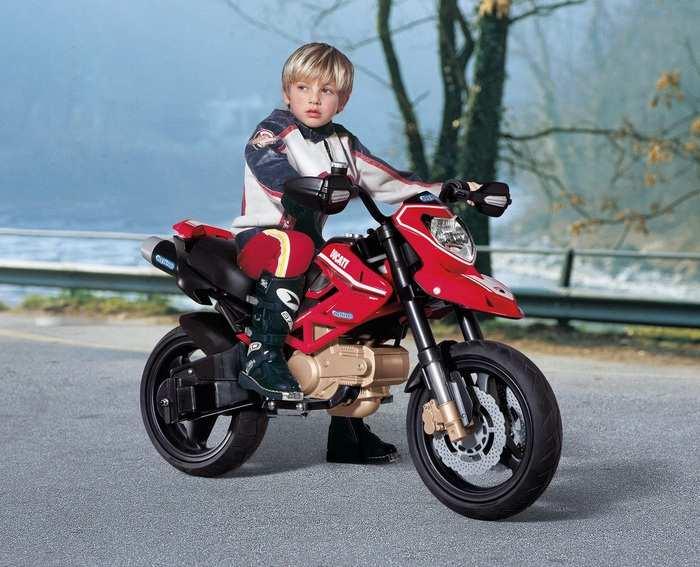 Детский электромотоцикл Peg-Perego DUCATI Hypermotard IGMC 0015