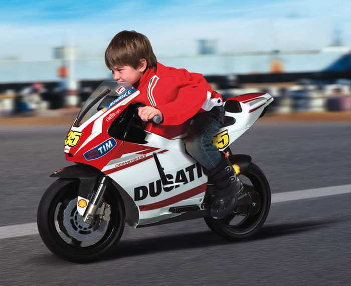 Детский мотоцикл Peg Perego Ducati GP 12V