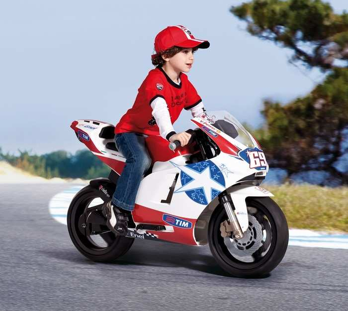 Мотоцикл для детей от 5 до 10 лет Peg Perego DUCATI GP 24V OD 0517