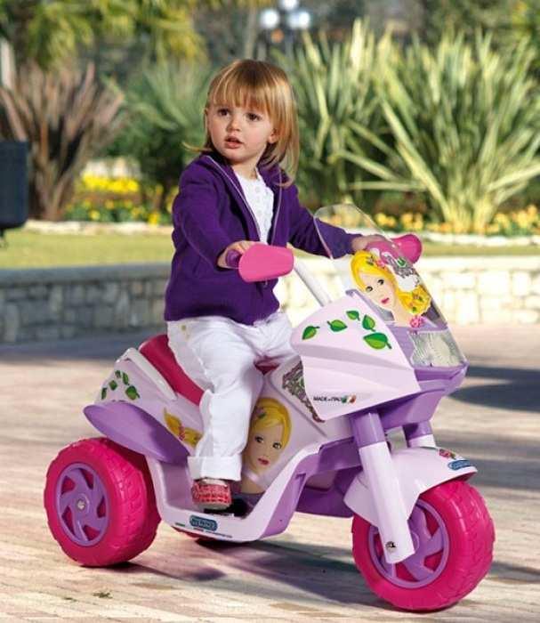 Детский мотоцикл Peg Perego Raider Princess 6V