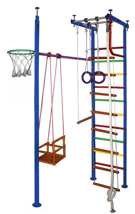 ДСК Вертикаль №10 детский спортивный комплекс для дома