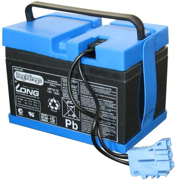 Аккумулятор для электромобилей Peg-Perego 12V/12Ah (ампер в час)