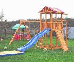 Мадрид-25 детские игровые деревянные площадки