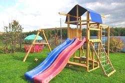 Мадрид-29 детские игровые деревянные площадки