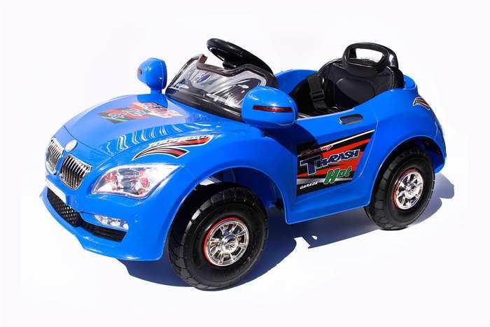 Детские автомобили E 333 KX на резиновых надувных колесах