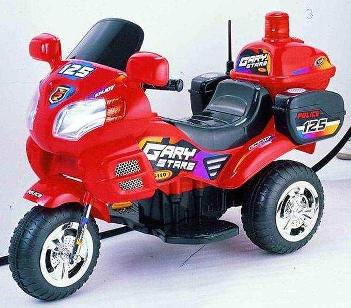 Детский мотоцикл Bugati EC-W 5119