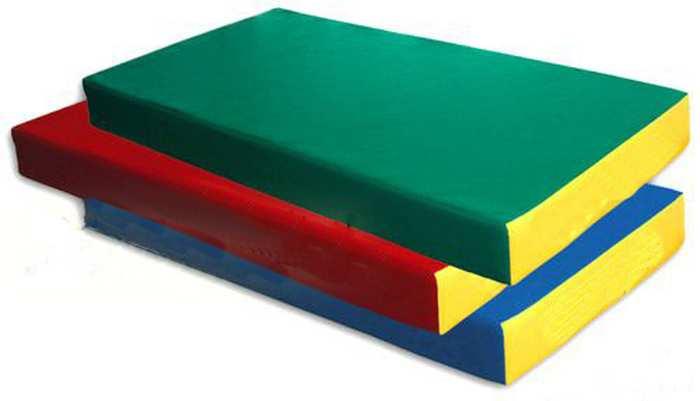 Гимнастический мат спортивный №1 (дшв) 100×50×10 см