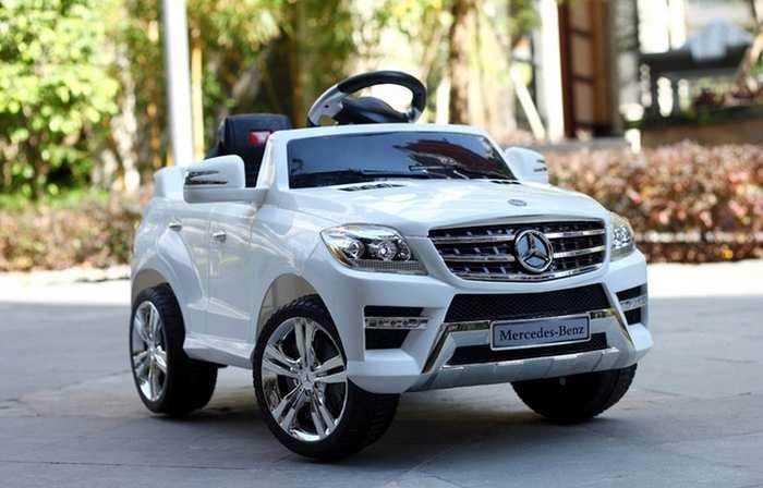 Электромобиль детский Mercedes-Benz QX-7996A с пультом управления