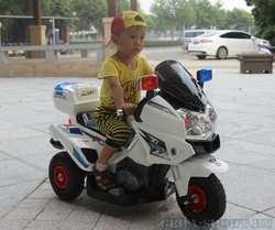 Детский мотоцикл на резиновых надувных колесах 815CH-A