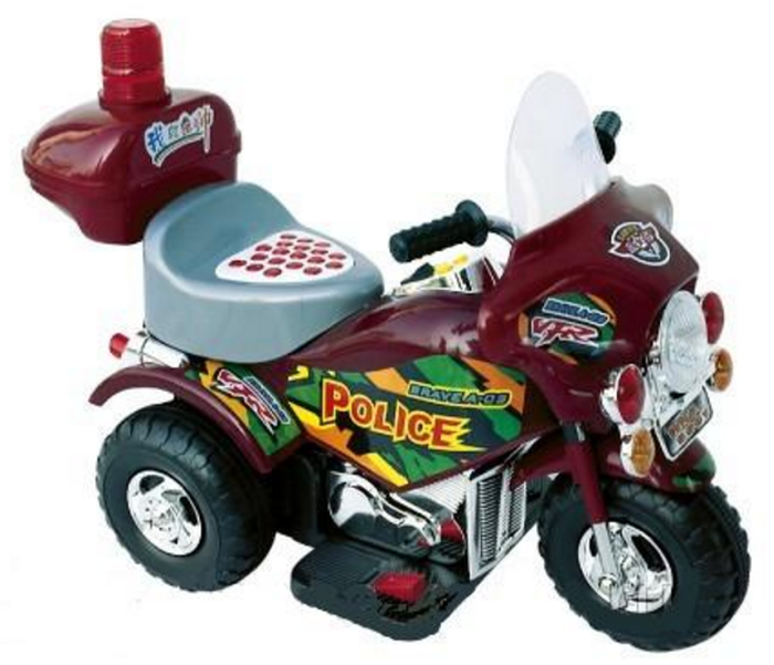 Детский мотоцикл POLICE ZP 9991