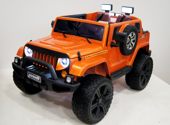 Детский электромобиль Jeep Wrangel O 999 OO 4*4