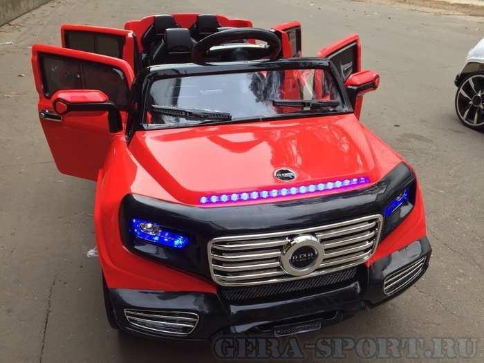 Mers ЛИМУЗИН A 555 AA электромобиль детский двухместный джип
