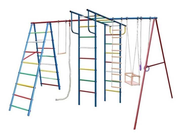 ДСК Вертикаль А+П МАКСИ с горкой для дачи детский спортивный комплекс для улицы