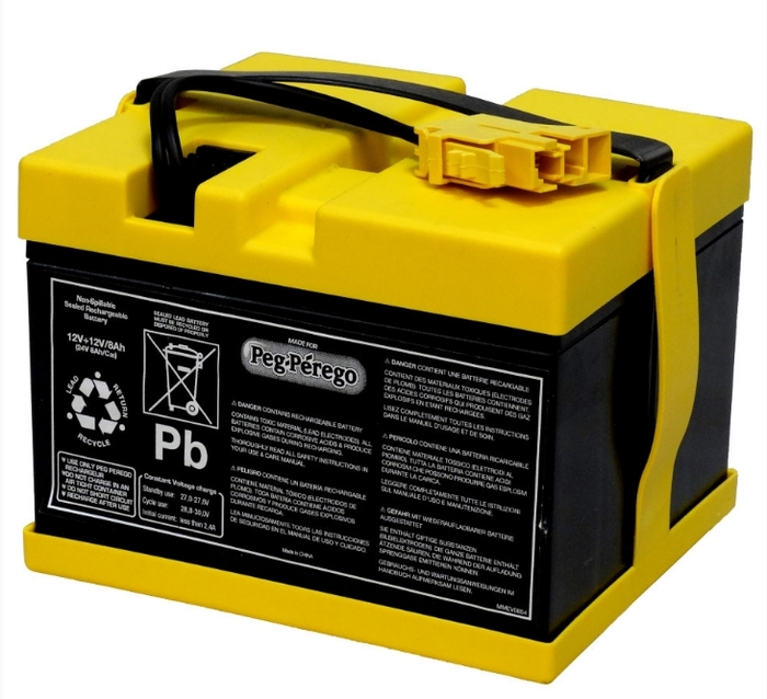 Аккумулятор для электромобилей Peg-Perego 24V 8ah