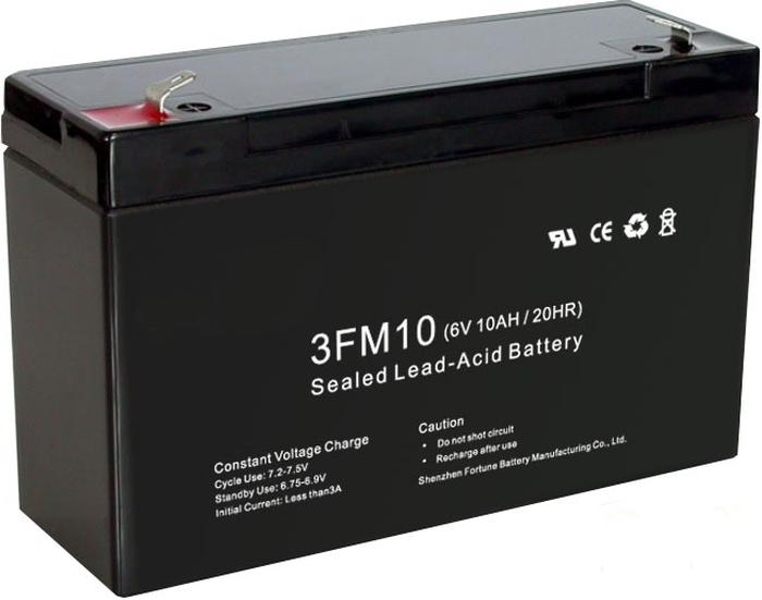 Аккумулятор для электромобиля 6V 10Ah (ампер в час)