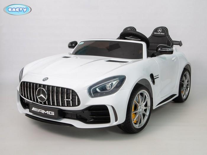 Электромобиль для детей Mercedes-Benz AMG GTR HL289 двухместный (ЛИЦЕНЗИОННАЯ МОДЕЛЬ)
