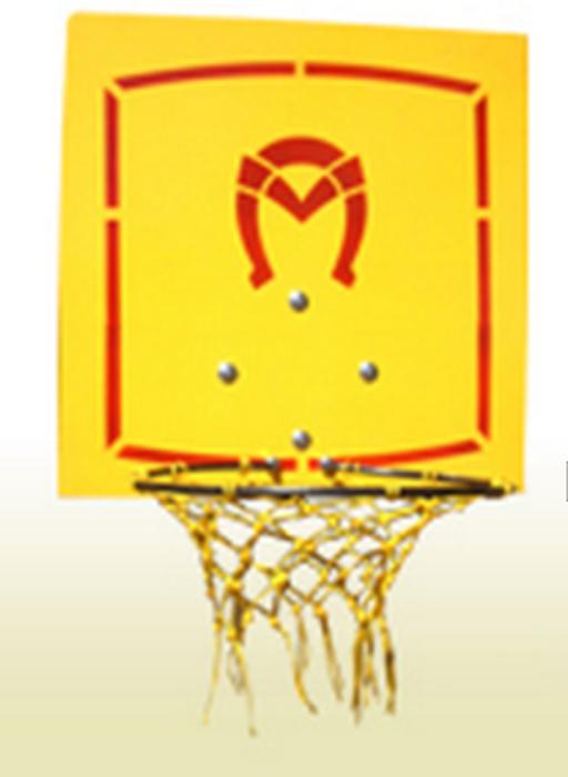 Кольцо баскетбольное с сеткой со щитом ПИОНЕР