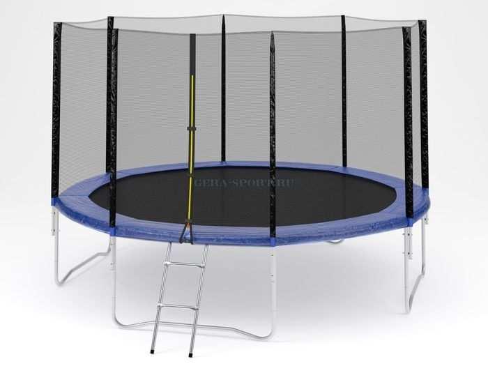 Trampoline №14 батут с сеткой диаметр 430 см