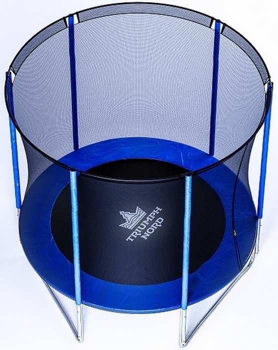 Триумф Норд дачный диаметр 300 см батут с защитной сеткой