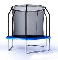 Батут детский с защитной сеткой PERFETTO SPORT 8 FT диаметр 2,4 м