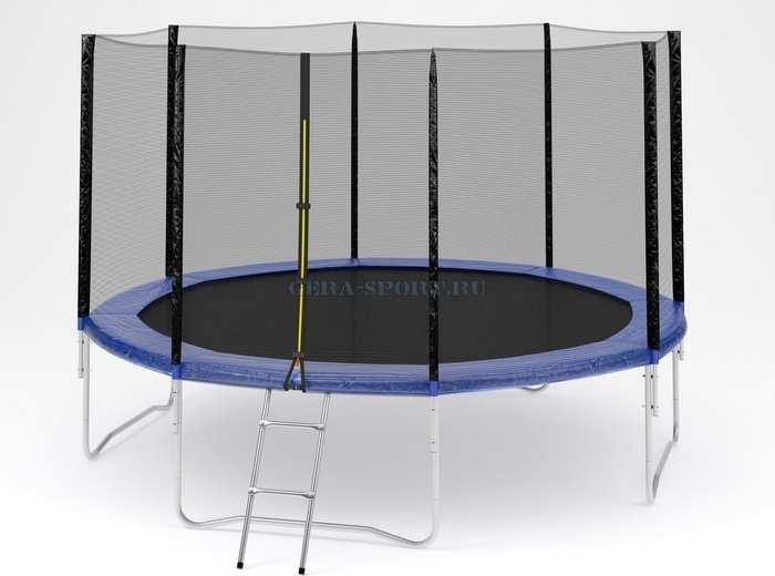 Trampoline №12 диаметр 370 см батут с сеткой