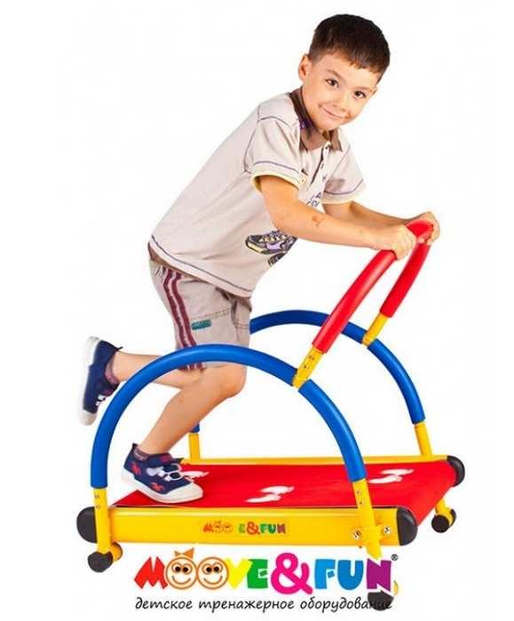 Детская беговая дорожка Moove Fun TFK01/SH-01