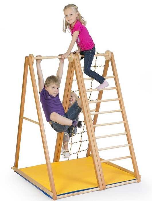 ДСК Kidwood Березка детский спортивный уголок домашний деревянный