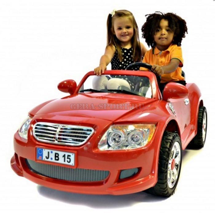 Детский двухместный электромобиль БМВ YJ 110 BMW