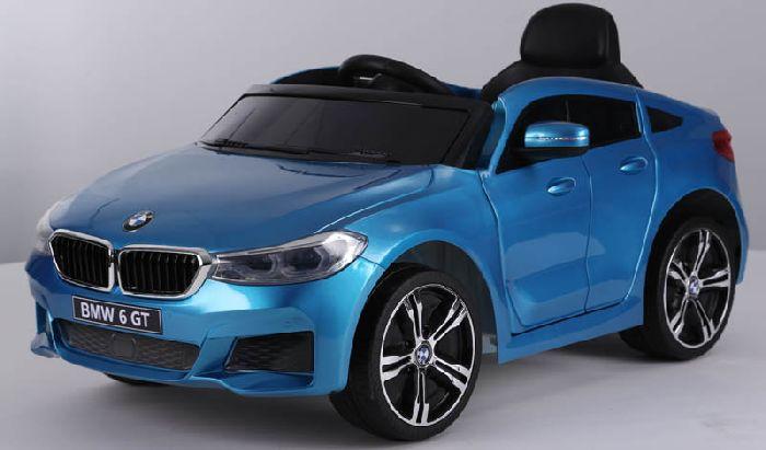Детский электромобиль BMW 6 GT JJ2164 на резиновых колесах