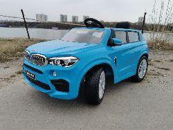 BMW X5M  детский электромобиль на резиновых колесах