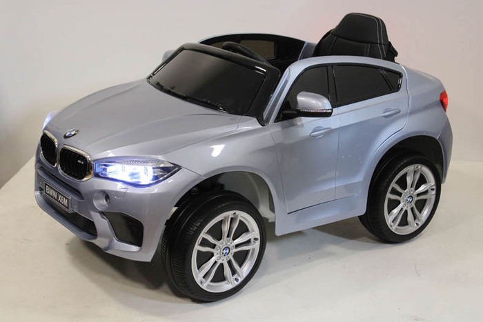 Детский электромобиль BMW X6M JJ2199 на резиновых колесах.