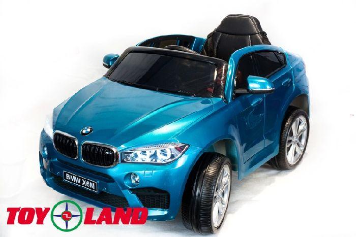 Детский электромобиль BMW X6M Mini на резиновых колесах.