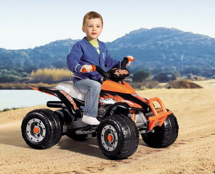 Детский квадроцикл Peg Perego Corral T-Rex