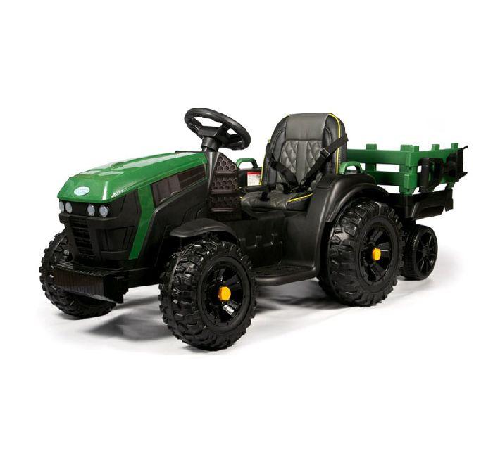 Детский электромобиль-трактор с прицепом Barty TR-777