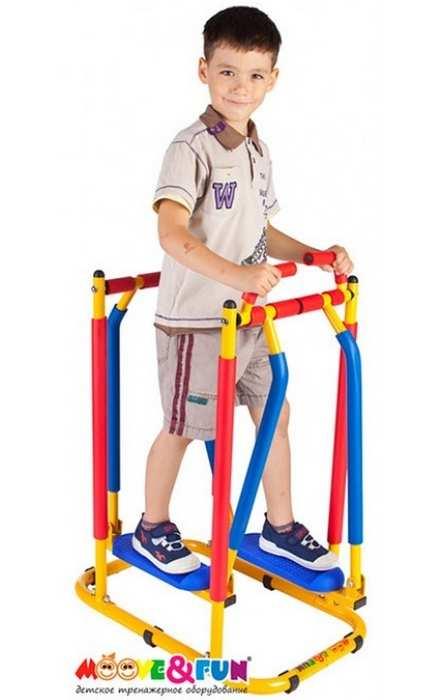 Тренажер детский механический Бегущая по волнам Moove Fun TFK-03/SH-03