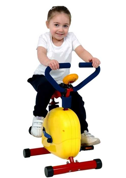 Детский велотренажер Moove Fun SH-02C с дисплеем