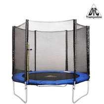 DFC батут Trampoline Fitness диаметр  8FT 244 см с защитной сеткой