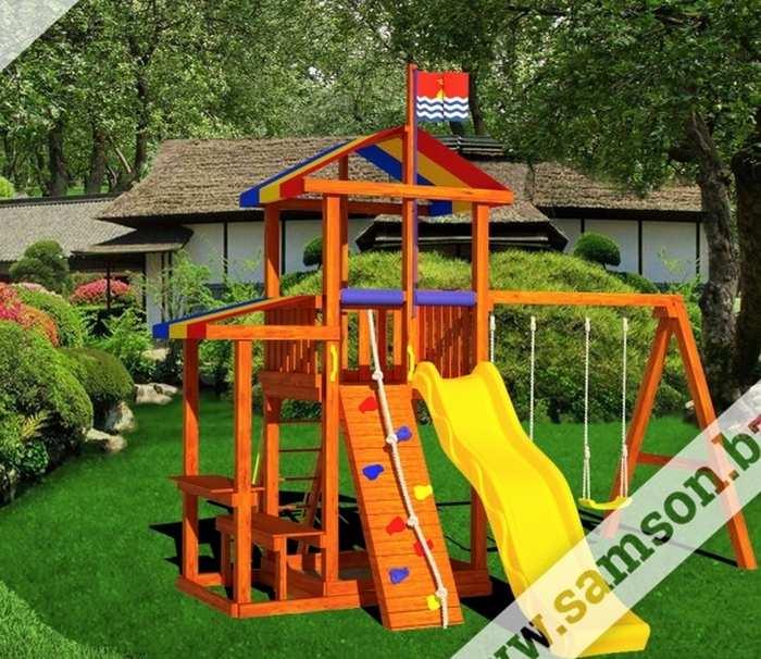 Детская игровая площадка Самсон Кирибати
