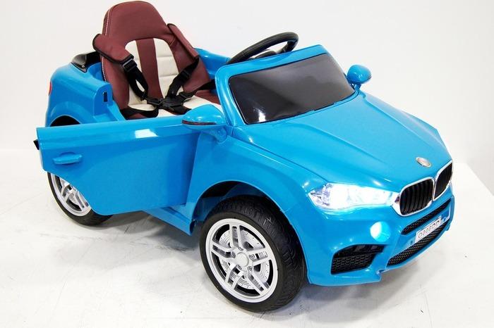 Детский электромобиль BMW O 006 OO на резиновых колесах