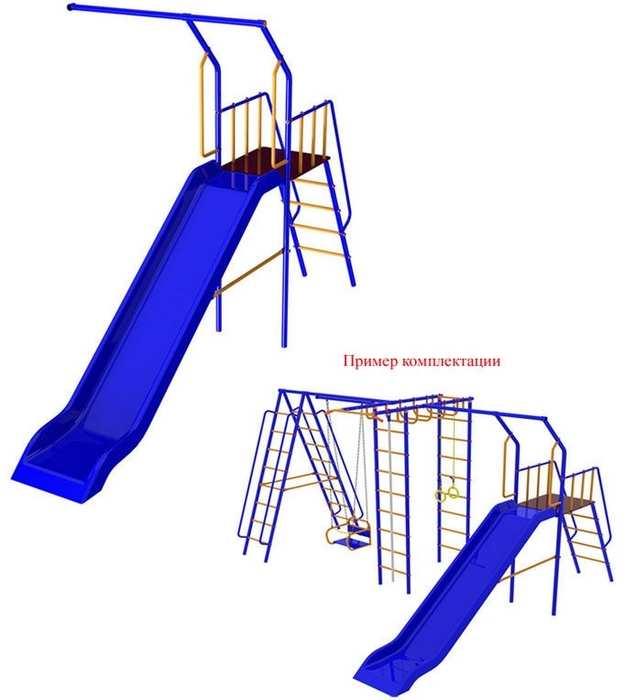 Дополнительная деталь к детскому спортивному комплексу Веселый Непоседа с детской горкой