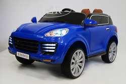 Детский электромобиль джип Porsche E 008 KX на резиновых колесах