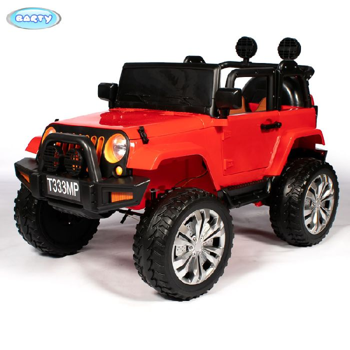 Детский полноприводный автомобиль JEEP T333MP на резиновых колесах