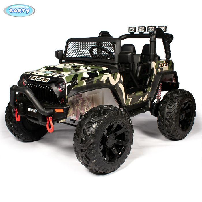 Детский автомобиль Jeep Wrangler M999MP на резиновых колесах
