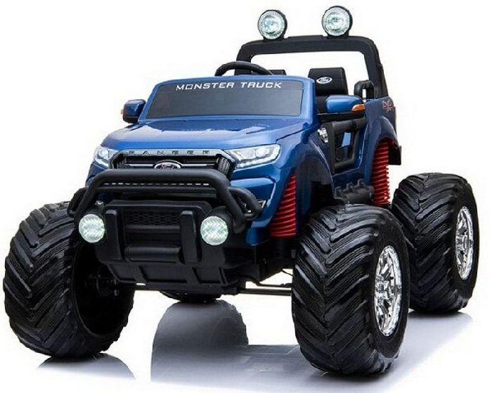 Детский полноприводный электромобиль FORD RANGER MONSTER TRUCK 4WD DK-MT550