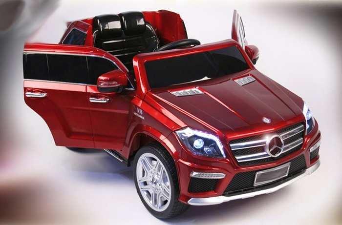 Mercedes-Benz GL-63 ЛИЦЕНЗИОННЫЙ детский электромобиль