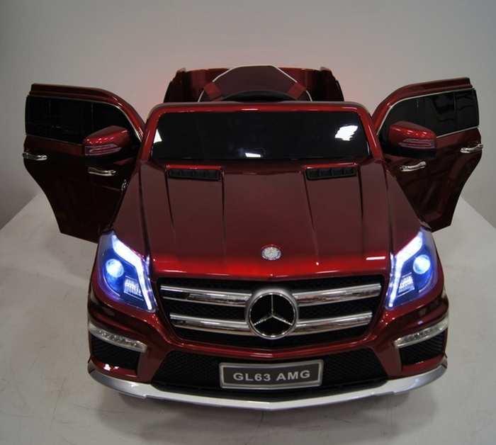 Электромобиль детский Mercedes-Benz GL63 на резиновых колесах