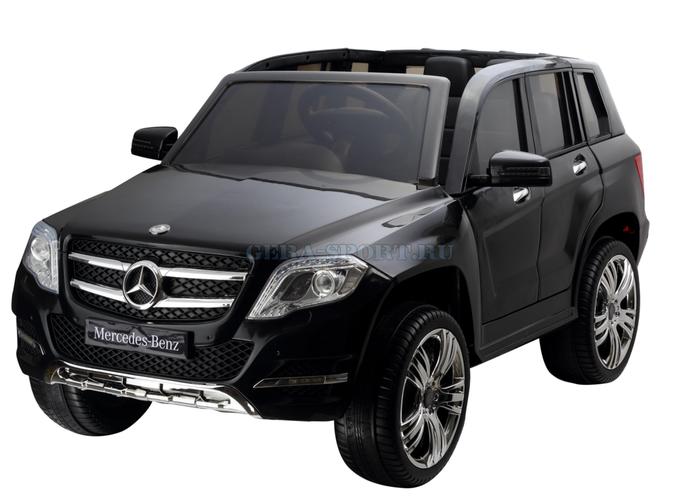 Mercedes-Benz GLK-300 детский электромобиль джип на резиновых колесах. Детский джип