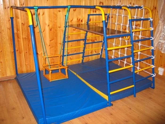 ДСК Городок Малыш 2 детский спортивный комплекс для дома